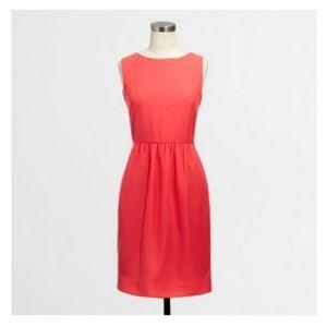 J Crew Factory Ruched Sheath Dress